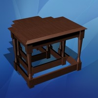 3d model nested tables