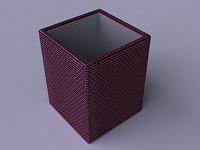 3d model pens pencils storage box