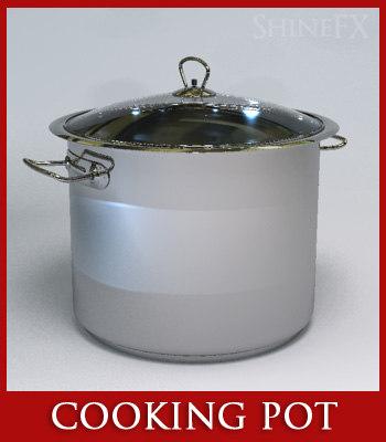 cooking pot 3d max