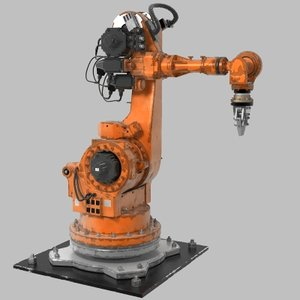 robot arm 3d obj