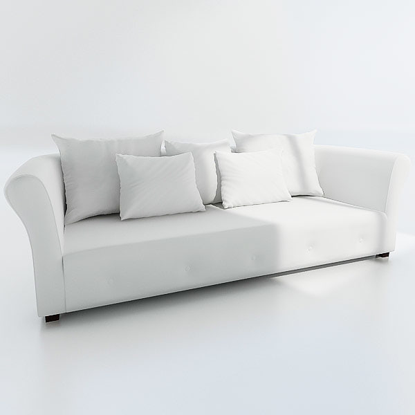 3d couches sofa model