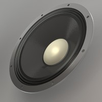 loud speaker 3d model