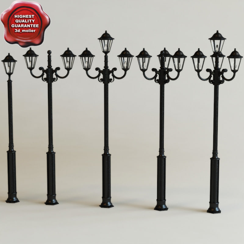3ds max street lamps v1