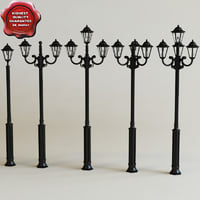 Street lamps collection V1
