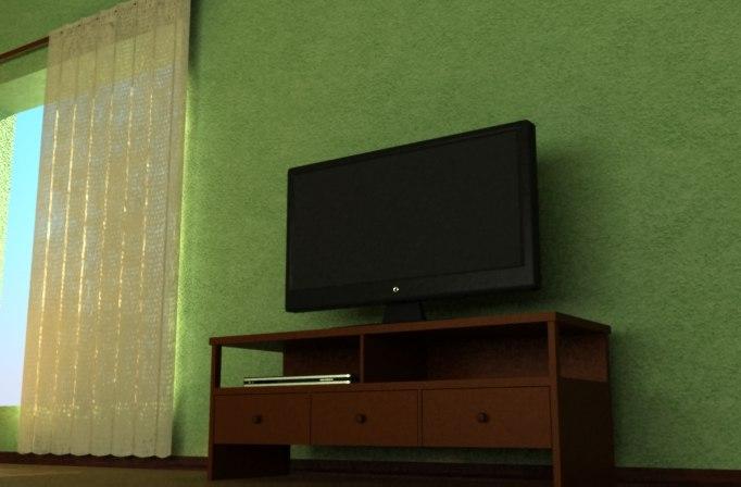 3d tv model
