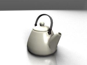 teakettle realistic 3d max