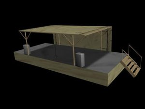 3d stage uso model