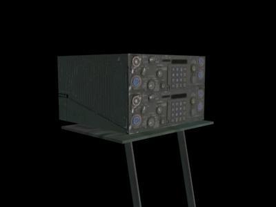 vrc-92 radio army 3d max