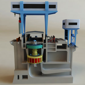 maya hydroelectric power generator v2