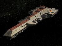3d model bismarck