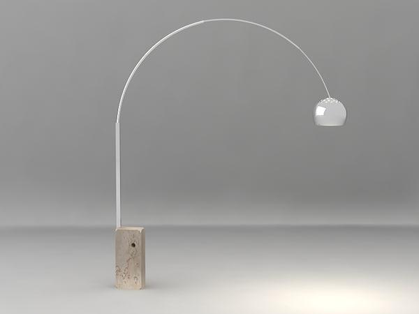 max arco lamp