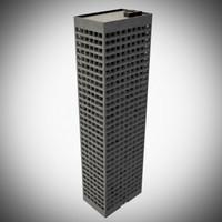 generic building 3d 3ds