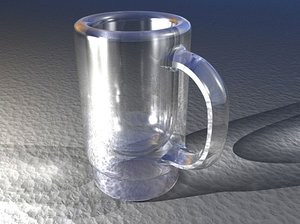 obj beer mug