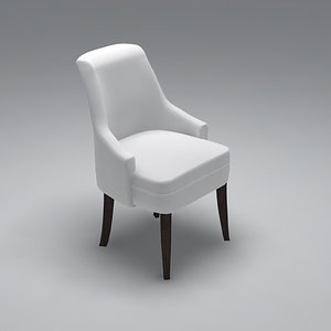 3ds max dinning chair design brook