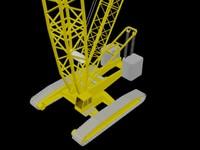 3ds max crawler crane cc2800