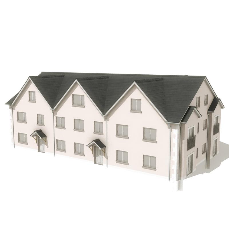 house 3d obj