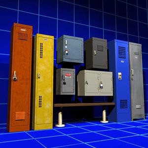 locker 01 door knob 3ds