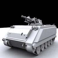 3d model apc m163 vulcan