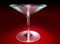maya martini glass