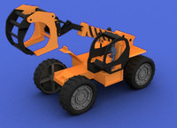 toy crane 3d lwo