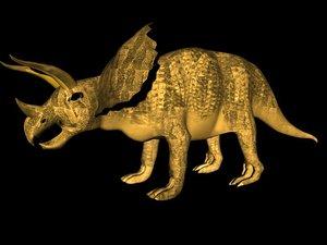 triceratops obj