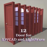 3d model lwcad doors