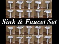 20 Pedestal Lavatory & Faucet Collections