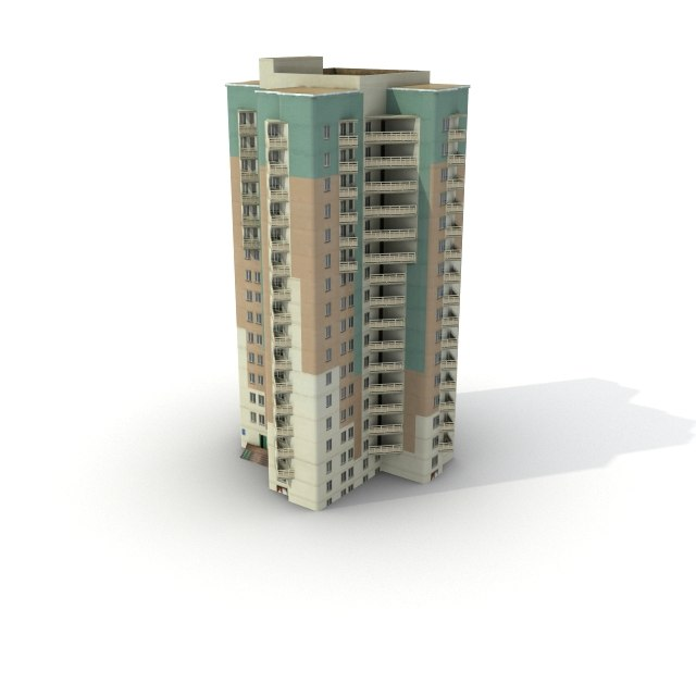 max low-poly building 04
