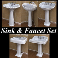 5 St.Thomas Creations Pedestal Lavatory & Faucet Collections