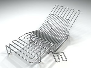 3ds max chair 01
