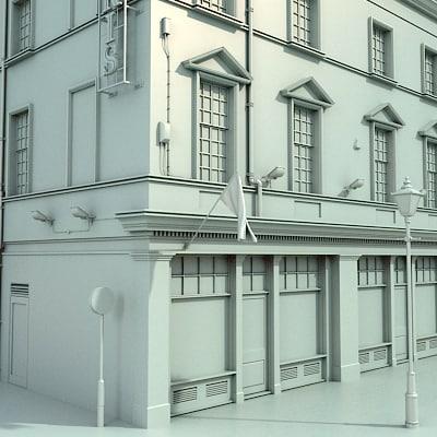3d london street