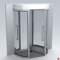 3d model door entrance