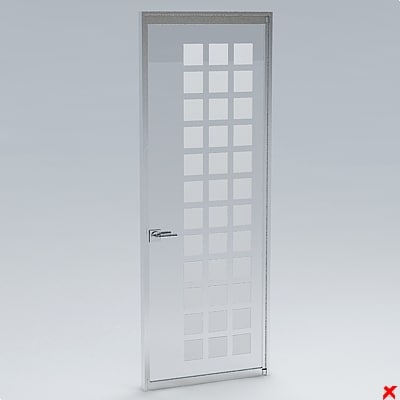 3ds max door office