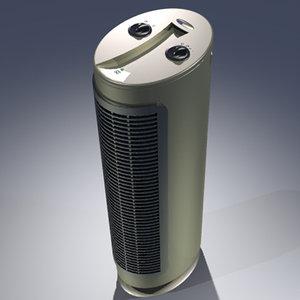 3d model household air purifier