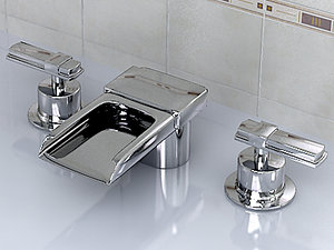 3d realistic kohler alterna k-7980 model