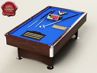 3d deluxe 8ft pool snooker table