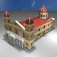 cathedral nicaragua 3d max