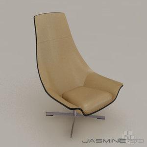 matteo grassi chair 3d max