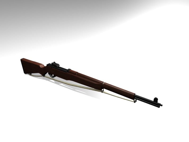 maya wwii m1 garand rifle