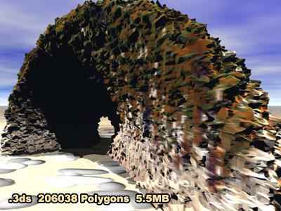 3d model grotto