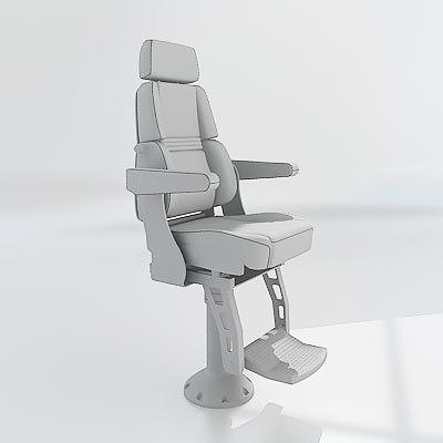helm chair 3d model