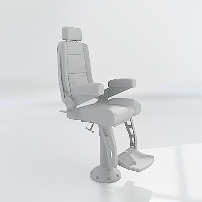 3d max helm chair