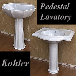 realistic kohler 3d model