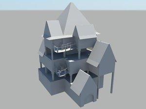 obj pirate house