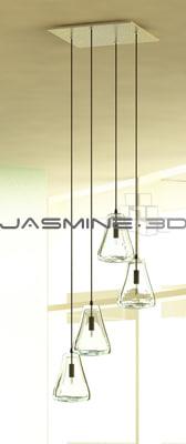 max glass ceiling light