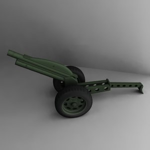 3ds m1a1 pack howitzer