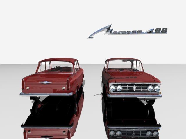 3ds max soviet 1360 moskvitch 408