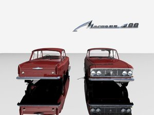 3ds max soviet 1360 moskvitch 408