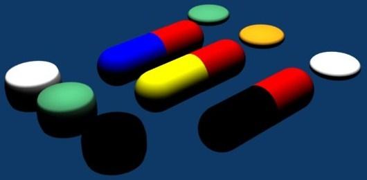 free pills 3d model