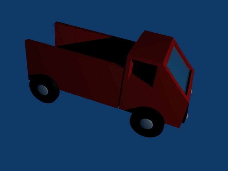 free blend mode truck